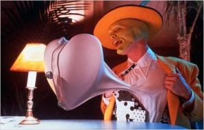 The Mask 1994 real : Chuck Russell Jim Carrey COLLECTION CHRISTOPHEL